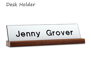 Desk Holder Nameplates