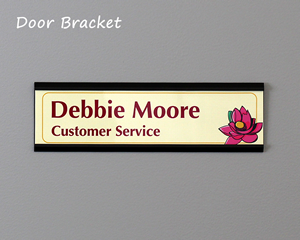Door Bracket Nameplates