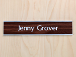 Our Most Popular Nameplate!