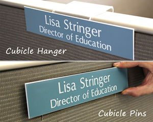 Cubicle Hanger Pins Nameplates