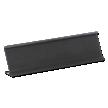 Nameplate Desk Holder, Black - 2 in. x 12 in.