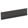 Nameplate Wall Holder, Black - 2 in. x 12 in.
